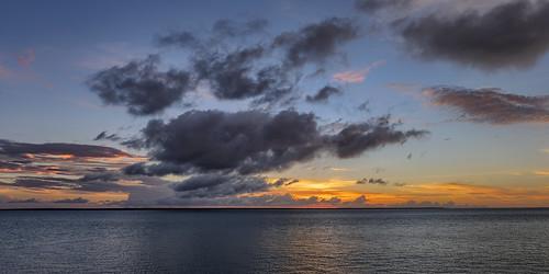 Sunset over the Cox Peninsula, Darwin Harbour, NT, Australia