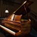 Wayne's Piano by Neil Cornwall