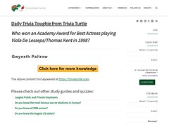 It's Thursday! Take a look at our new Trivia Toughie