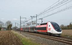 TGV Euro Duplex 3UA 4719 - Photo of Mézériat