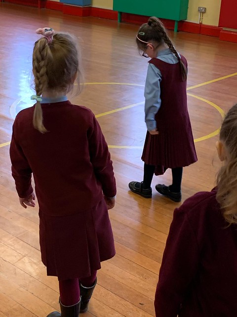 Meditation In senior infants