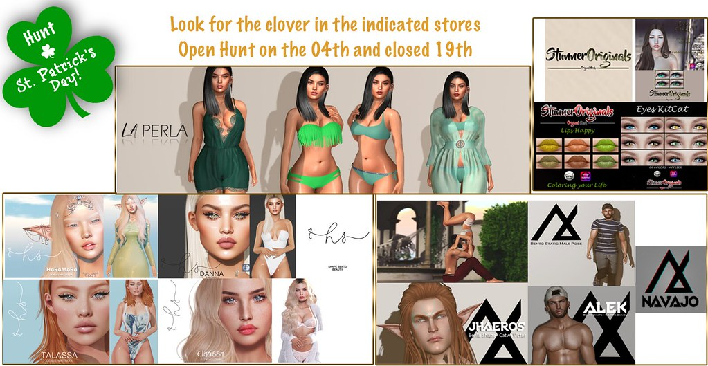 Saint Patrick's Day Hunt* LA PERLA /Holloway Store / N A V A J O /