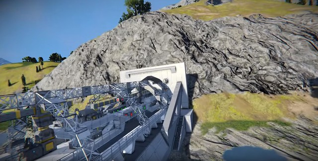 Space Engineers - Tunnel Boring Machine
