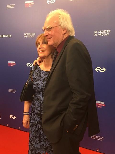 Herman Pleij en moeder de vrouw