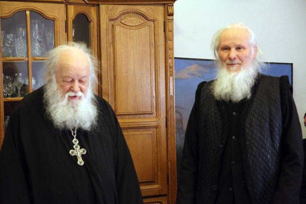 Состоялась встреча воспитанников Перервинской семинарии с протоиереем Валерианом Кречетовым