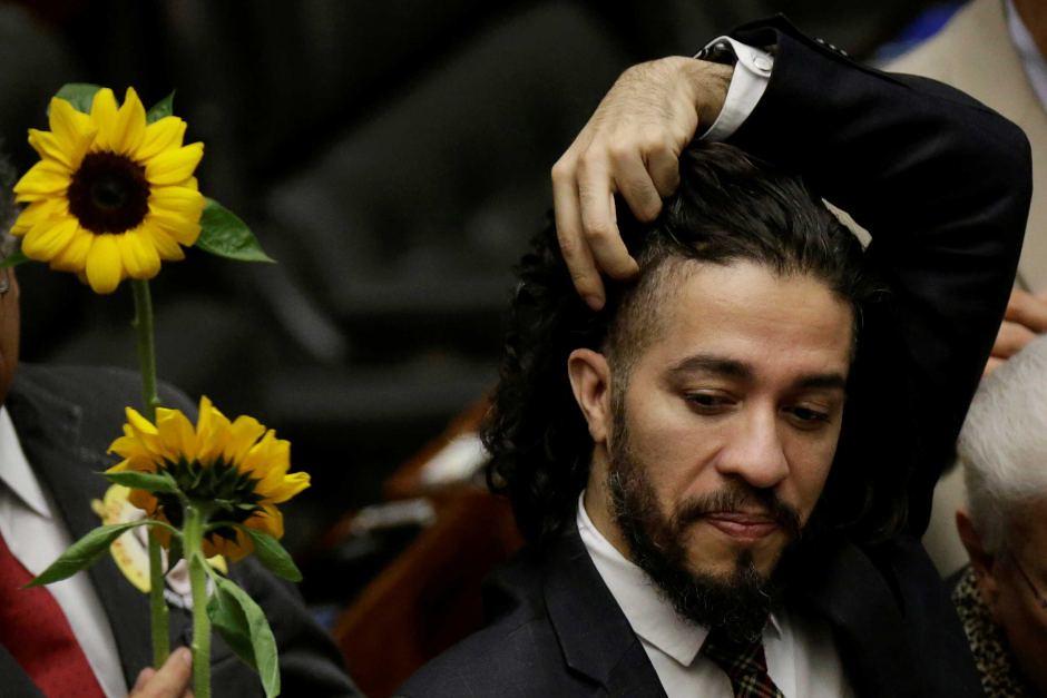 流亡巴西議員威利斯。(圖片來源:Jean Wyllys/Reuters)