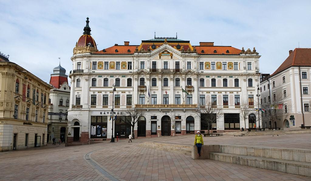 Széchenyi Square, Pécs, Hungary