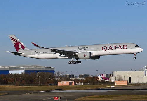 F-WZNV Airbus A350-1000 Qatar Airways
