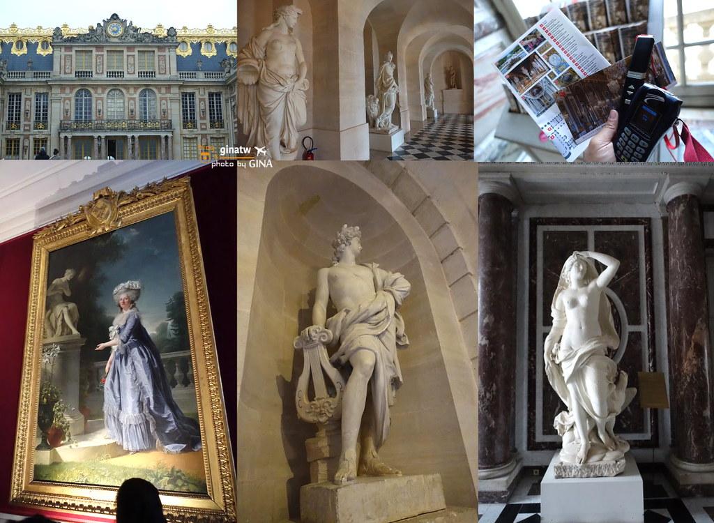 【巴黎近郊景點】法國凡爾賽宮|超大後花園+華麗鏡廳|宮殿世界遺產 @GINA環球旅行生活|不會韓文也可以去韓國 🇹🇼