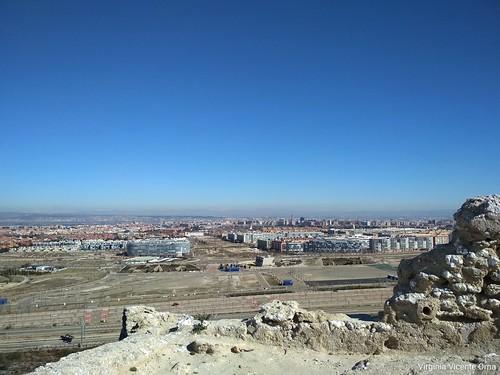 Panoramica Zaragoza montes de valdespartera