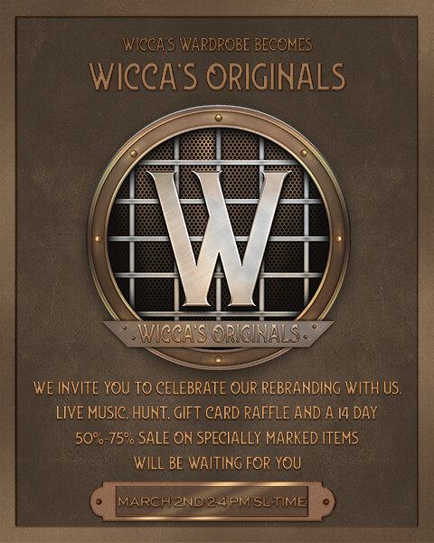 Wicca's Originals Poster (updated)