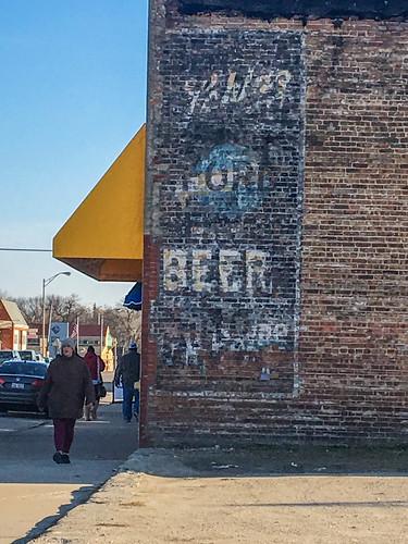 20170319 06 Ghost Sign, Seneca, Illinois