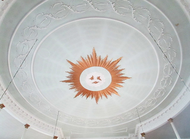 St Chad's Church, Shrewsbury, Ceiling