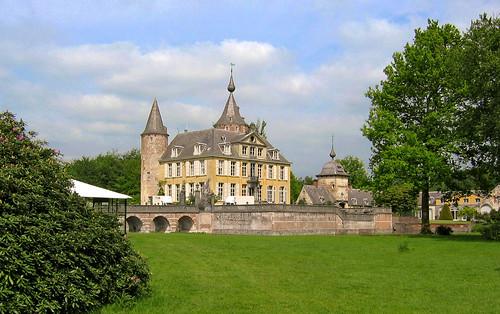 Kasteel 's-Gravenwezel, just NE of Antwerp in Belgium
