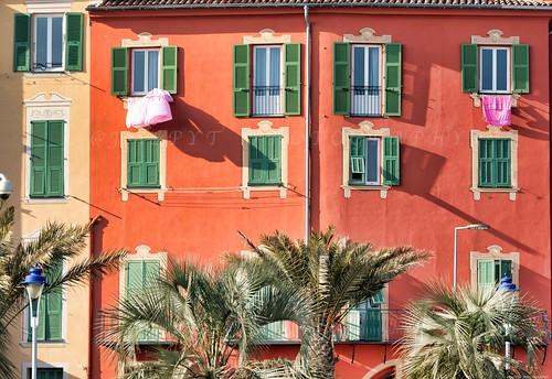 Menton et ses façades - Côte d'Azur France -3D0A4674