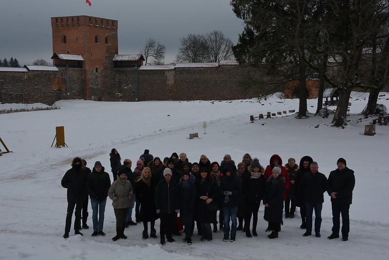 Kelionė į Medininkų pilį
