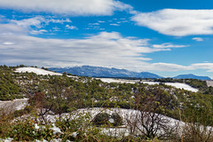 First snow in the Provence