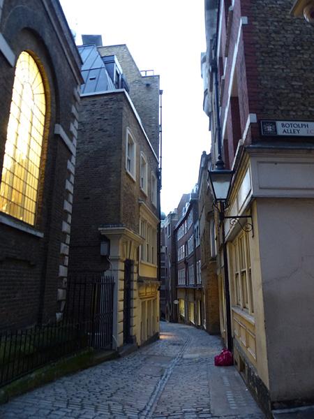 petite rue de la City