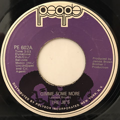 THE JB'S:GIMME SOME MORE(LABEL SIDE-A)