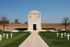 Chapel of Rest Somme American Cemetery Bony Picardy France - Photo of Vendhuile