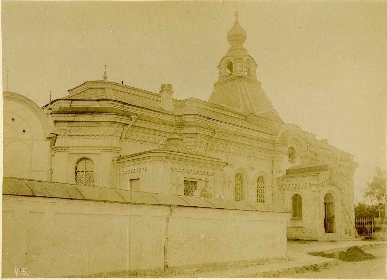 27. Церковь Тихвинской иконы Божией Матери на кладбище