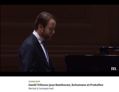 Daniil Trifonov joue Beethoven, Schumann et Prokofiev 09-02-2019