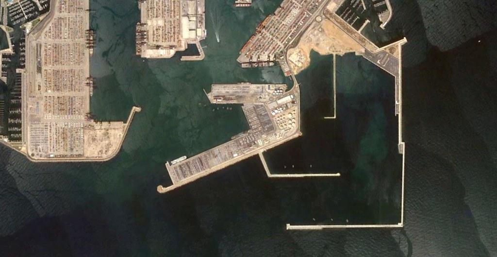 dique del este, puerto de valencia, valencia, short sea tripping, después, urbanismo, planeamiento, urbano, desastre, urbanístico, construcción, rotondas, carretera