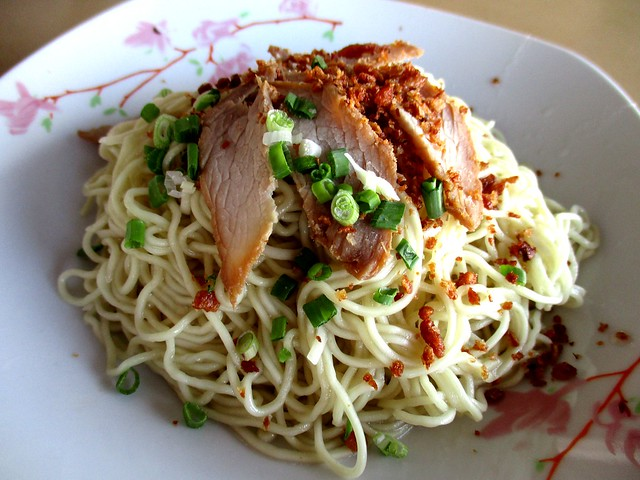 Traditional Sibu kampua mee