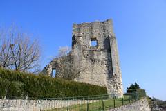 16 Marthon - Donjon XII XIII - Photo of Montbron