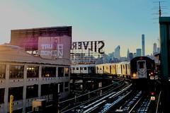 <7> Train at Queensboro Plaza