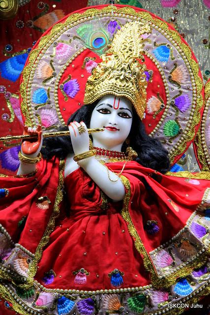ISKCON Juhu Mangal Deity Darshan on 1st App 2019