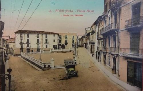 plaça majot de Roda de Ter Osona