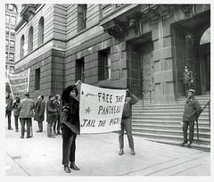 'Free the Panthers; Jail the pigs' - 1971
