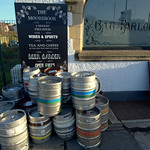The Moorbrook pub kegs, Preston