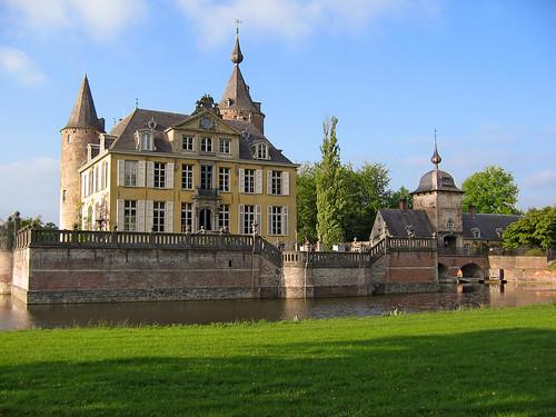 Romantic Kasteel 's-Gravenwezel, NE of Antwerp, Belgium