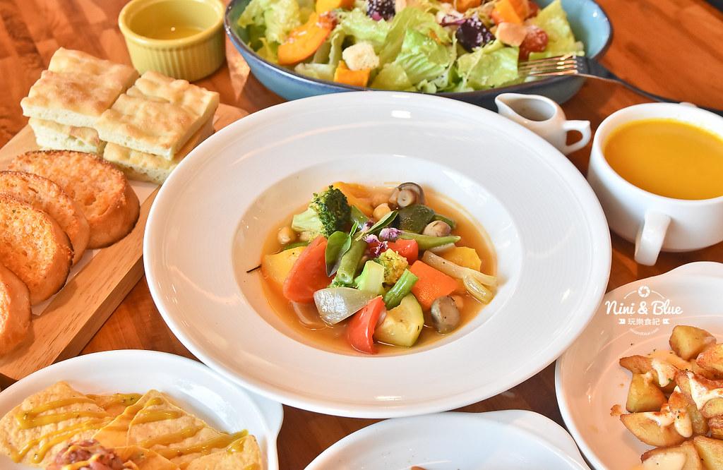 布佬廚房 台中蔬食 素食菜單18