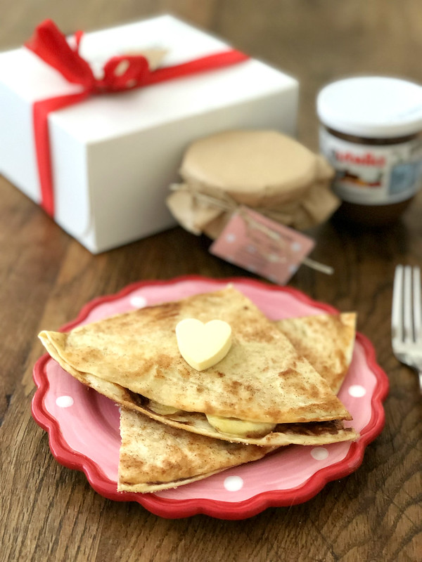 Nutella Banana Quesadillas