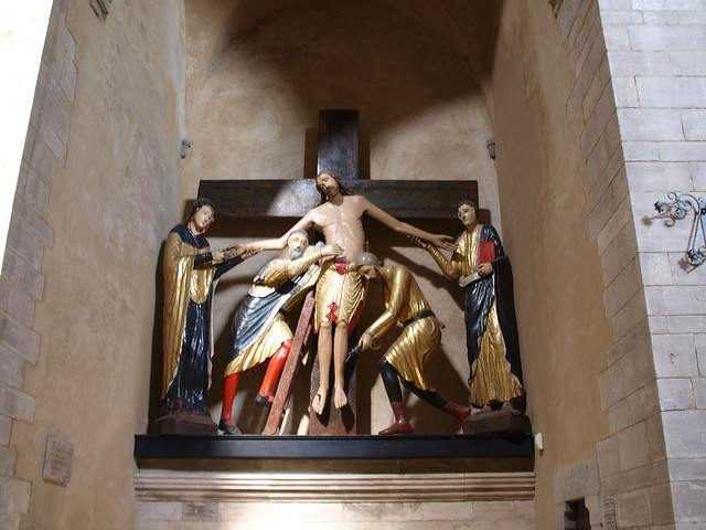 Cattedrale di Santa Maria Assunta, depostion of Christ, 1228, Volterra, Italy 2013
