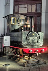 ex-Barruelo mine 550mm guage 0-4-0T (Couillet 580/1882) in Madrid Railway Museum, Spain on 25 Oct 2018