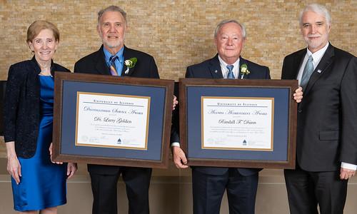 UIS Feature: Honoring Achievement & Service