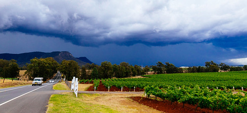 Before the rain in Hunter Valley