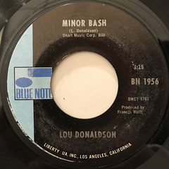 LOU DONALDSON:EVERYTHING I DO GONH BE FUNKY(FROM NOW ON)(LABEL SIDE-B)