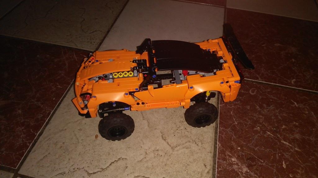 Lego Technic 42093 4x4 mod