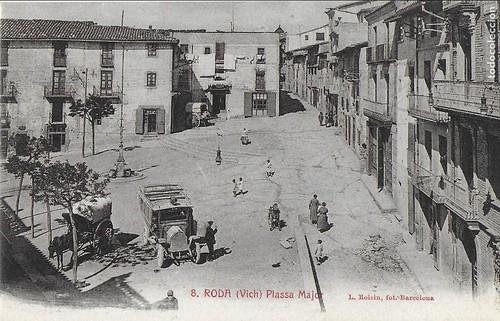 plaça major Roda de Ter