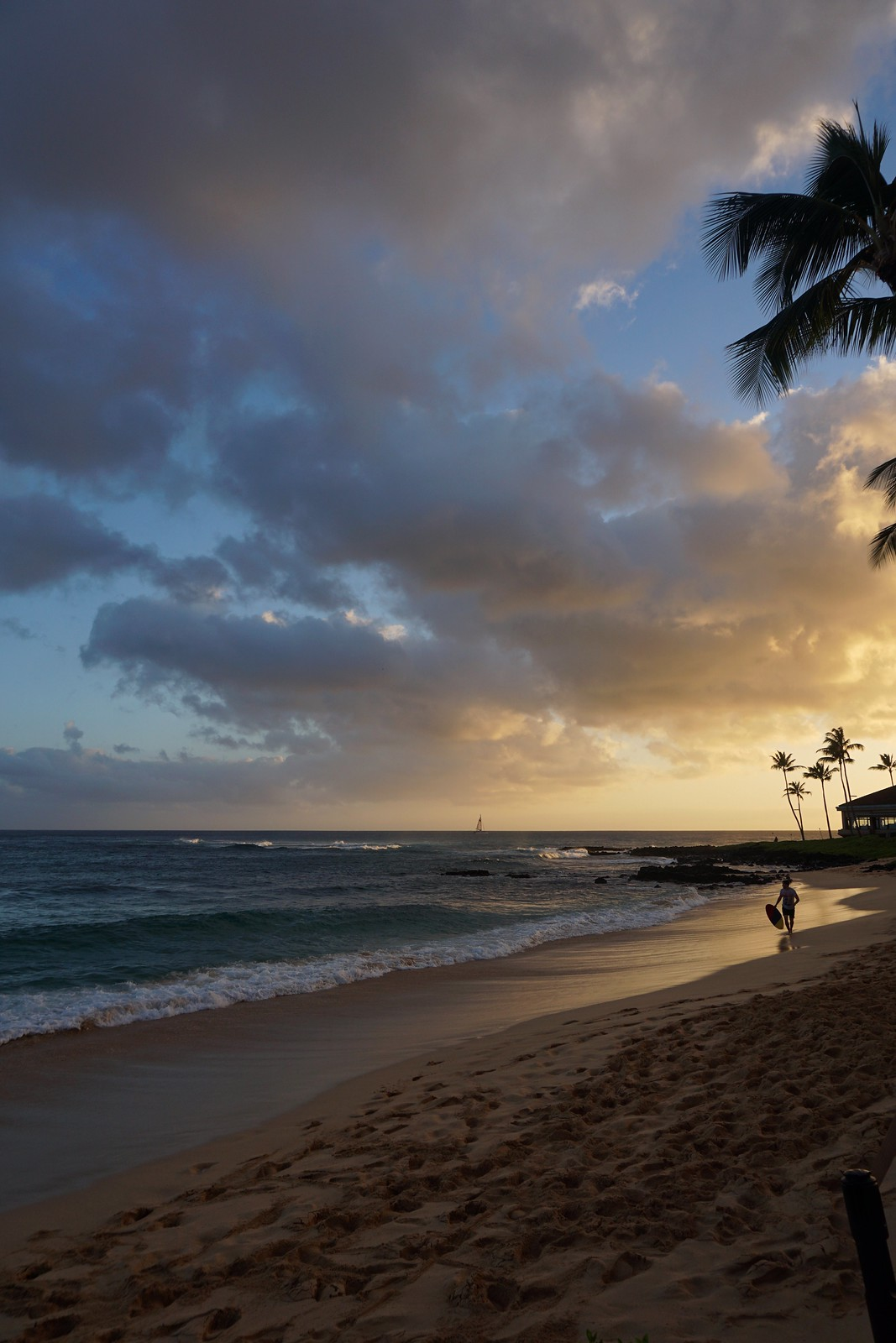 Sunset Sheraton Kauai Resort Poipu Beach Hawaii