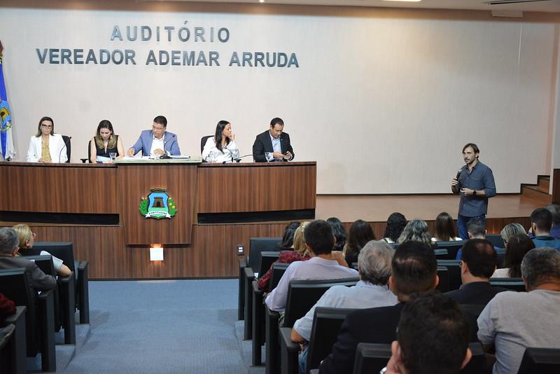 Audiência Pública sobre o Código da Cidade (Livro II – Ambiente Construído) 15.03.2019