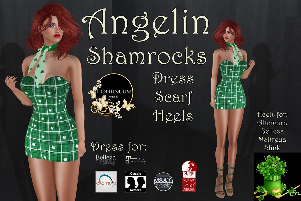 Continuum Angelin Shamrocks Outfit