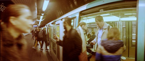 metro rush @ Pont de Neuilly