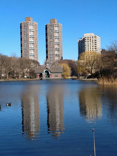 Harlem Meer Reflections