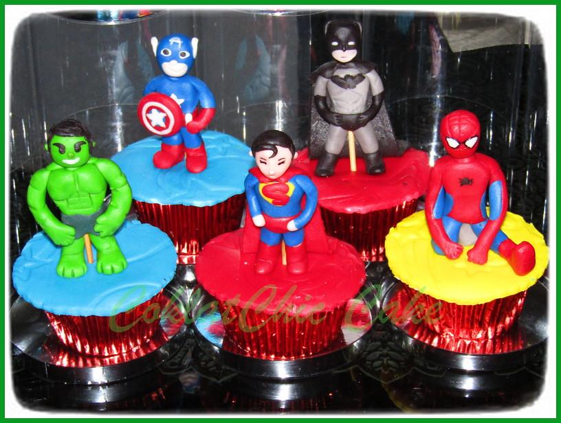 Cupcake Superhero